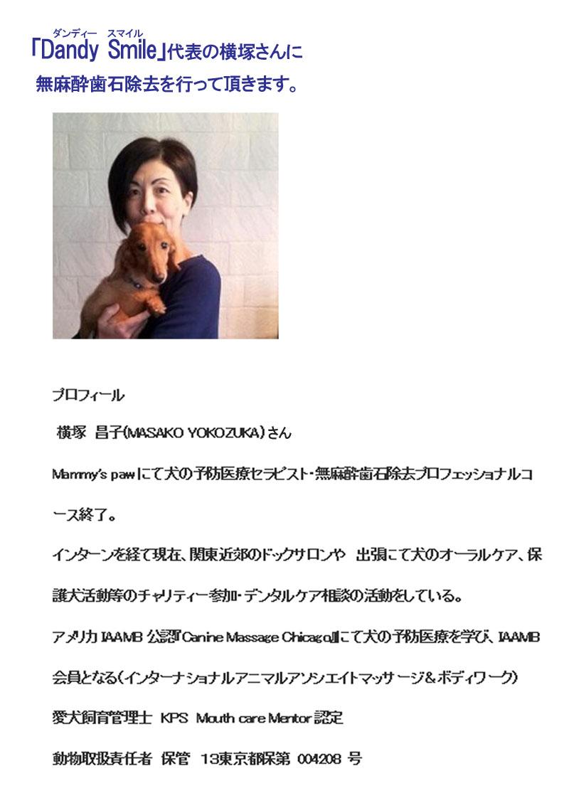 横塚さんのプロフィール